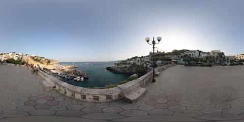 Castro foto panoramica immersiva VR a 360°