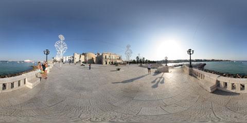 Otranto, panoramica VR a 360° del Lungomare