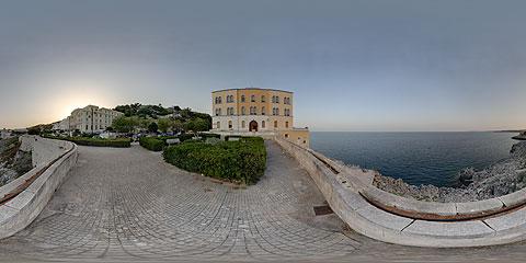 Santa Cesarea Terme - foto panoramica immersiva VR a 360°