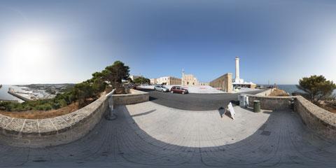 Santa Maria di Leuca, foto panoramica immersiva a 360°