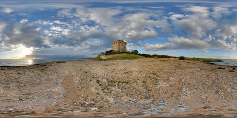 Torre Sabea - foto panoramica immersiva VR a 360°