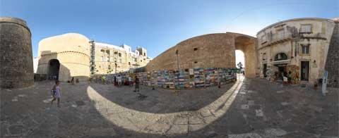 Otranto Piazza Portaterra a 360°