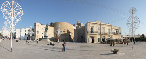 Lungomare degli Eroi a Otranto
