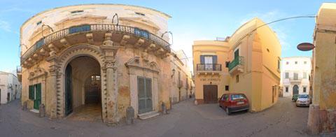 Palazzo Senape-De Pace a 360°