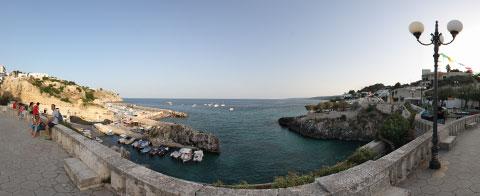 Foto panoramica a 360° VR di Castro Marina